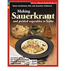 <p>Ref:  SP-00. Homemade sauerkraut, pickles, and other lactic acid-fermented foods are superior to their store-bought equivalents, both in flavour and healing properties. With this book, discover the simple remedies and healing agents found in these traditional foods. Step-by-step recipes guide the modern reader through centuries-old methods of fermentation.</p> <p>64 pages,  200x160mm. Colour illustrations.</p><p>$29.95 incl delivery</p>